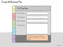 Ppt Slide Format Of Business Plan Sales
