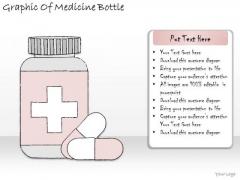 Ppt Slide Graphic Of Medicine Bottle Marketing Plan
