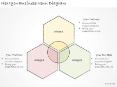 Ppt Slide Hexagon Business Venn Diagram Diagrams