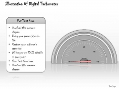 Ppt Slide Illustration Of Digital Tachometer Consulting Firms