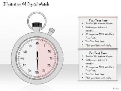 Ppt Slide Illustration Of Digital Watch Consulting Firms