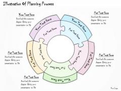 Ppt Slide Illustration Of Planning Process Sales