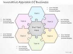 Ppt Slide Innovative Approach Of Business Sales Plan