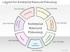 Ppt Slide Layout For Enterprise Resource Planning Strategic