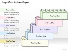 Ppt Slide Lego Blocks Business Diagram Strategic Planning