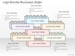 Ppt Slide Lego Blocks Business Steps Consulting Firms