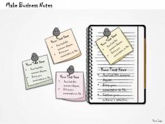 Ppt Slide Make Business Notes Plan