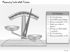 Ppt Slide Measuring Scale With Pointer Consulting Firms