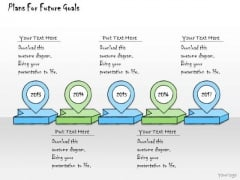 Ppt Slide Plans For Future Goals Marketing