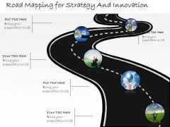 Ppt Slide Road Mapping For Strategy And Innovation Marketing Plan