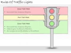 Ppt Slide Rules Of Traffic Lights Strategic Planning