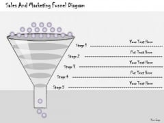 Ppt Slide Sales And Marketing Funnel Diagram Strategic Planning