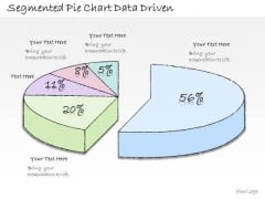 Ppt Slide Segmented Pie Chart Data Driven Business Diagrams