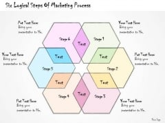 Ppt Slide Six Logical Steps Of Marketing Process Plan