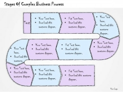 Ppt Slide Stages Of Complex Business Process Strategic Planning
