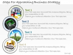 Ppt Slide Steps For Approaching Business Strategy Consulting Firms