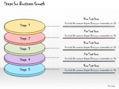 Ppt Slide Steps For Business Growth Consulting Firms
