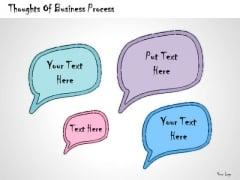 Ppt Slide Thoughts Of Business Process Strategic Planning