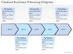 Ppt Slide Timeline Business Planning Diagram Sales