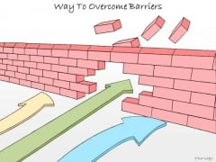 Ppt Slide Way To Overcome Barriers Business Diagrams