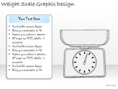 Ppt Slide Weight Scale Graphic Design Business Diagrams
