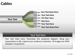 Ppt Slides 6 Factors List Cables PowerPoint Templates