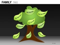 Ppt Slides Family Tree Diagram