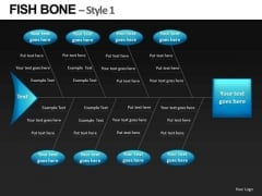 Ppt Slides Ishikawa Diagrams Fishbone