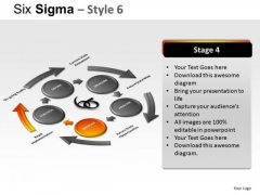 Ppt Slides On Six Sigma Process Ppt Diagrams