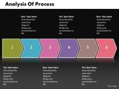 Ppt Step By Picture Of The Process For Analysis PowerPoint Templates