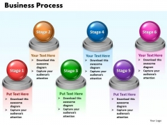Ppt Steps Of Business Process 6 Stages Presentation PowerPoint Tips 0812 Templates
