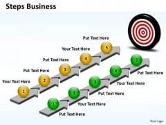 Ppt Steps To Starting Small Business PowerPoint Slides Business Templates