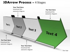 Ppt Template 3d 4 Stages World Concept Design PowerPoint Arrow Progression 5