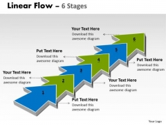 Ppt Template 6 Stages Step By Marketing Strategy Business PowerPoint 1 Graphic