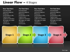Ppt Template Arrow Progression Of Business Workflow Diagram Time Management PowerPoint 1 Image