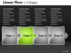 Ppt Template Arrow Progression Of Firm Workflow Spider Diagram PowerPoint 3 Image