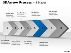 Ppt Template Continous Custom Sample Presentation PowerPoint Download Flow Diagram 7 Image