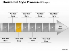 Ppt Template Linear Demonstration Of 8 Practice The PowerPoint Macro Steps Procedure 4 Design