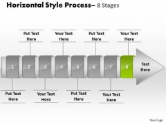 Ppt Template Linear Demonstration Of 8 Steps Working With Slide Numbers Procedure 9 Graphic