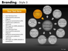 Ppt Templates 9 Outer Circles With Center Circle Diagram PowerPoint Slides