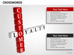 Ppt Templates Customer Loyalty Word PowerPoint Slides