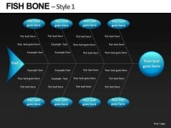 Ppt Templates Fishbone Diagrams