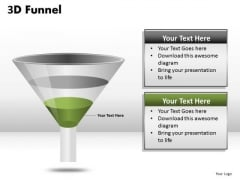 Ppt Templates Funnel Graphs PowerPoint Slides