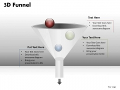 Ppt Templates Funnel Pipeline Diagram PowerPoint Slides