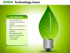 Ppt Templates Natural Renewable Sources Of Green Energy PowerPoint Slides