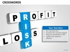 Ppt Templates Profit Loss Risk Finance PowerPoint Slides
