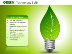Ppt Templates Save Energy Preserve Nature Green Energy Ppt Slides