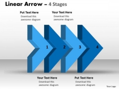 Ppt Theme 3d Illustration Of Four Stages Marketing Plan Business Strategy PowerPoint 1 Graphic