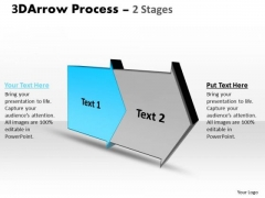 Ppt Theme Two State Diagram Of Commerce Procedure Time Management PowerPoint 2 Image