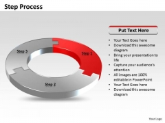 Ppt Three Step Process Editable Business Communication PowerPoint Circle Templates